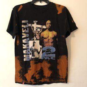 Custom made Makaveli 2pac T shirt